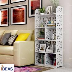 KỆ SÁCH ĐỨNG HOA CHỒI CHIA NGĂN 5 TẦNG IDEAS- IDKS019