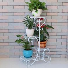 Kệ sắt để cây cảnh sang trọng – tiết kiệm không gian (Trắng) – Kmart
