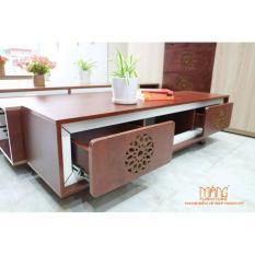Kệ tivi Măng KTV 002 -1400/1600 màu gỗ
