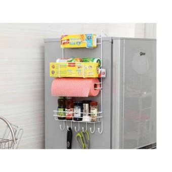 Kệ treo tủ lạnh đa năng, tiết kiệm diện tích MDH-MT01