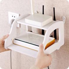 Kệ wifi treo tường nhỏ gọn kiểu mới (Trắng)