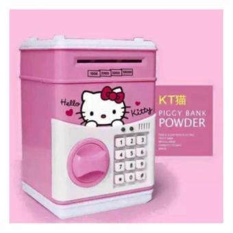 Két Mini Cho Bé Yêu (Hồng Hình Hello Kitty)