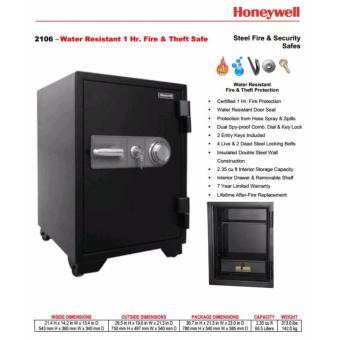 Két sắt chống cháy, chống nước Honeywell 2106 khoá cơ ( Mỹ )