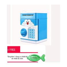 Két sắt mini Doremon cho bé yêu + Tặng kèm nhiệt kế đo nhiệt độ nước cho bé trị giá 50 ngàn đồng