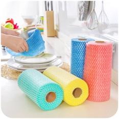 Khăn đa năng cho gia đình bạn(1 cuộn 50 khăn)