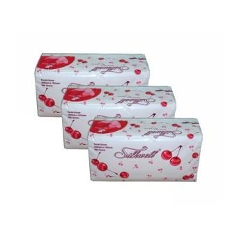 Khăn giấy Soft Pack 2 lớp silkwell 18.5 x 20 cm (280 tờ/gói)