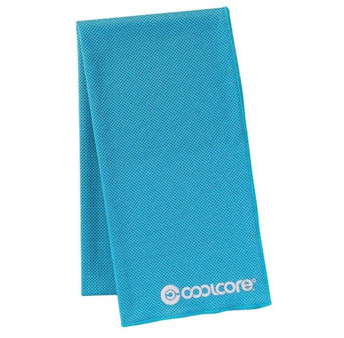 Khăn lạnh thể thao Coolcore 120 x 31cm – Nhật Bản (Xanh da trời)