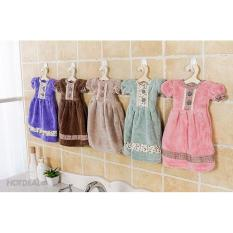 Khăn Lau Tay Đa Năng Hình Váy Đầm Dễ Thương
