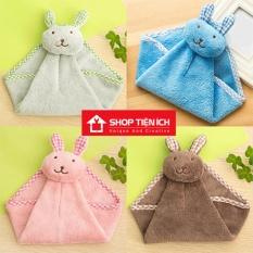 Khăn lau tay hình chú thỏ xinh xắn Shop Tiện Ích ( Nhiều màu )