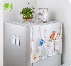 Khăn phủ tủ lạnh chống thấm Family Plaza