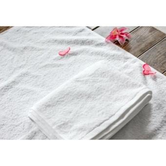 Khăn tắm cotton cao cấp BHOME loại lớn 65x135cm ( Trắng)