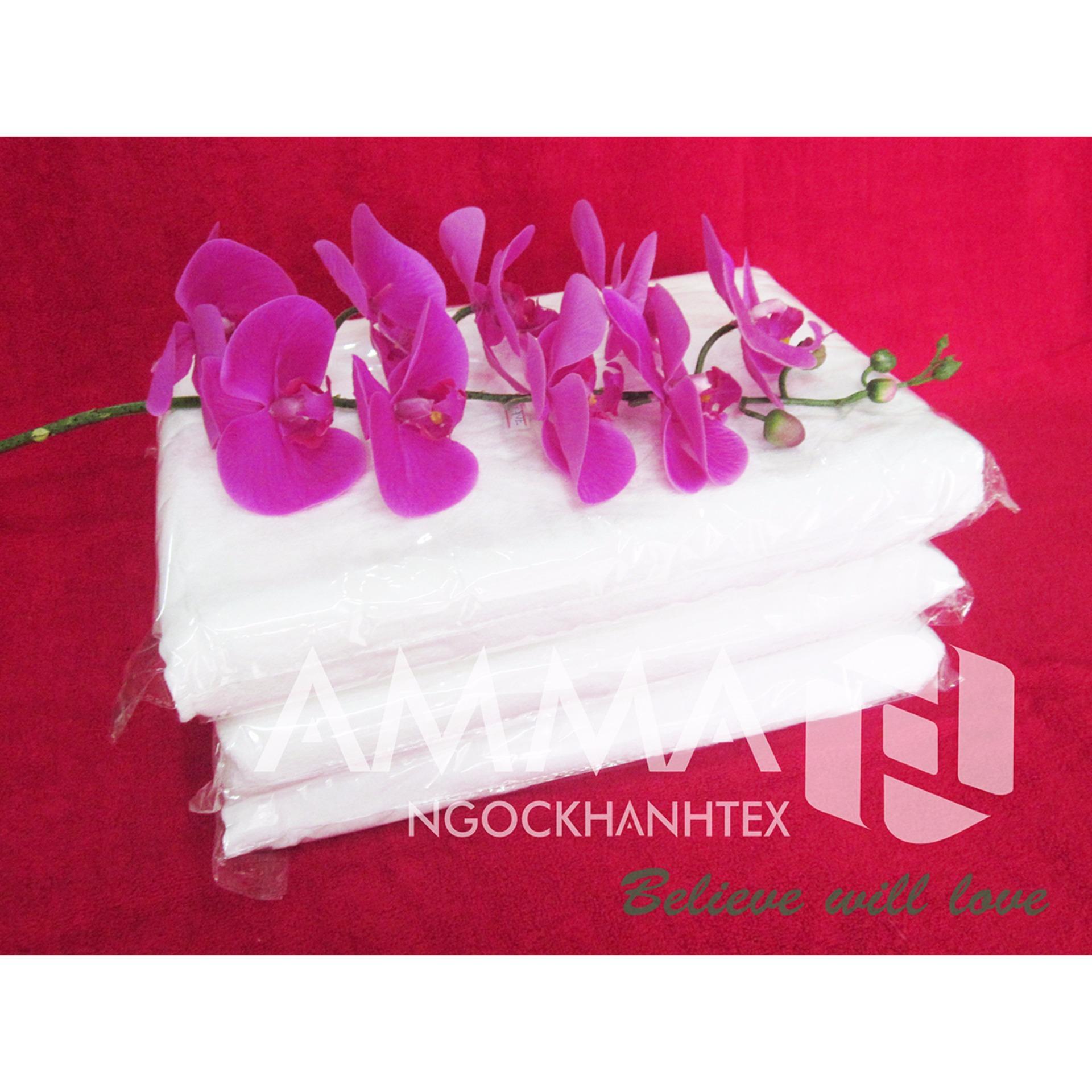 Khăn tắm trắng cao cấp AMMA 70x140cm