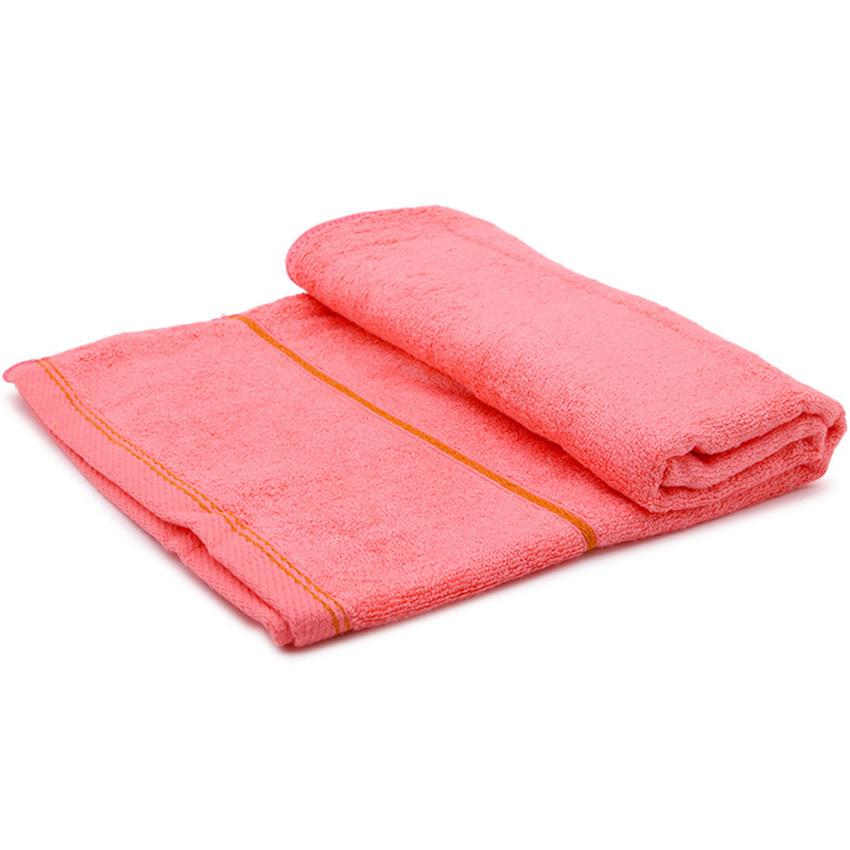 Khăn tắm xơ tre cỡ trung Vinatowel VP 07 60x120cm (hồng)