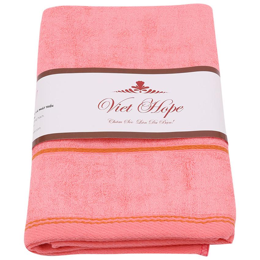 Nơi nào bán Khăn tắm xơ tre cỡ trung Vinatowel VP 07 60x120cm (hồng)