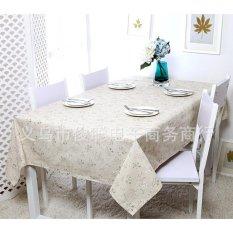 Khăn trải bàn cành hoa BINBIN KB01 (140x180cm)(Be)
