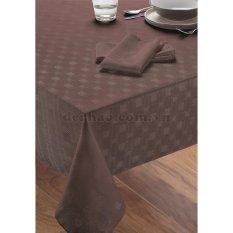 Bảng Giá Khăn trải bàn Dulem 132x230cm (Chocolate)