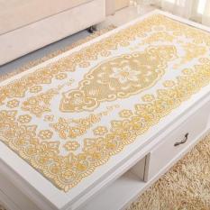 Khăn trải bàn hoạ tiết như ý cát tường(60*100cm)(Vàng nhạt)