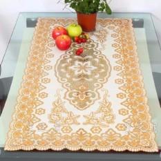 Khăn trải bàn hoa văn hình chữ nhật kích thước 40×80 cm