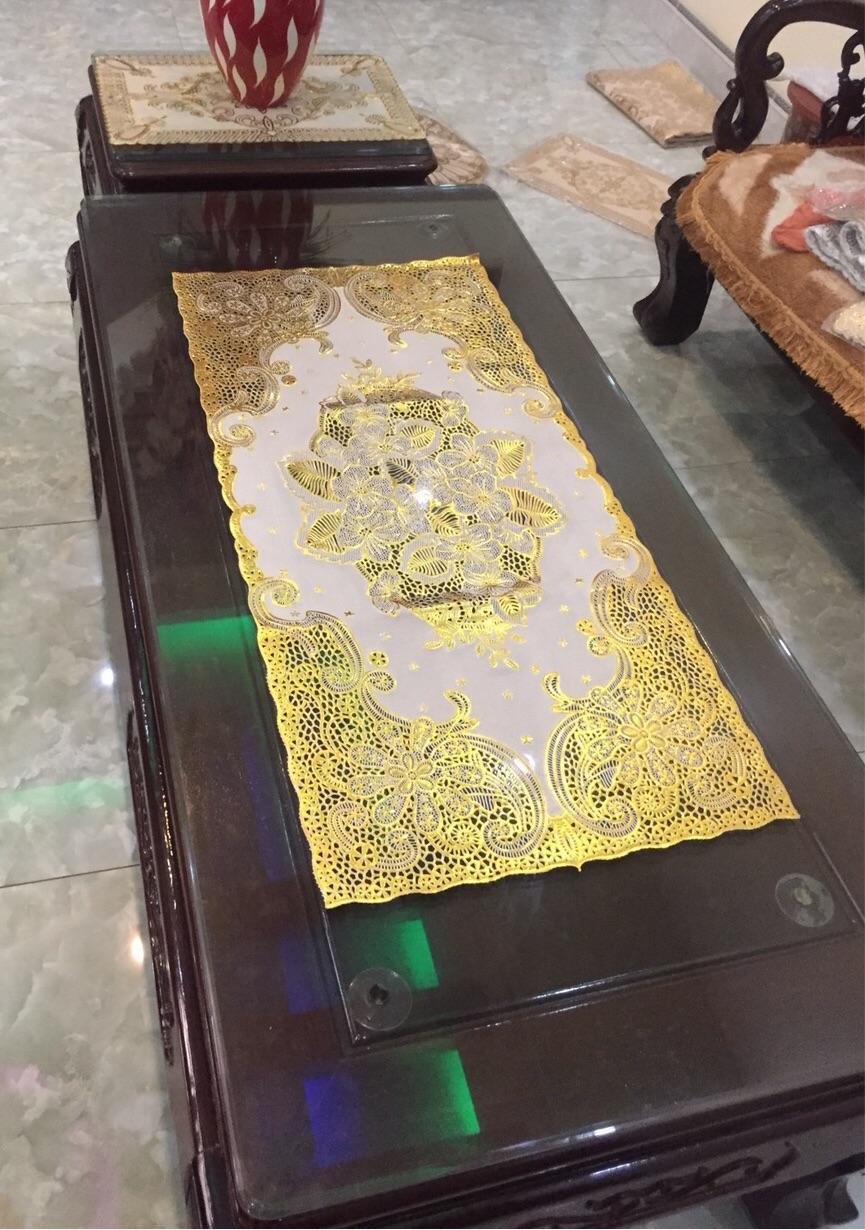 Khăn trải bàn nhựa 3D 40×84