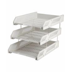 Khay hồ sơ 3 tầng nhựa Comix B2060