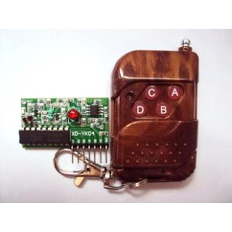 Khiển từ xa +mạch thu RF 315Mhz PT2272-T4