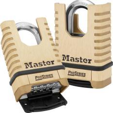 Khóa chống cắt Master Lock 1177D (Vàng nhạt)