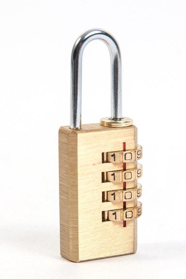 Khoá mật khẩu củ đồng 4 số