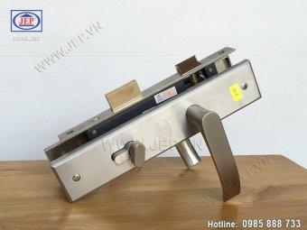 Khóa tay gạt inox cho cửa gỗ JEP MC15