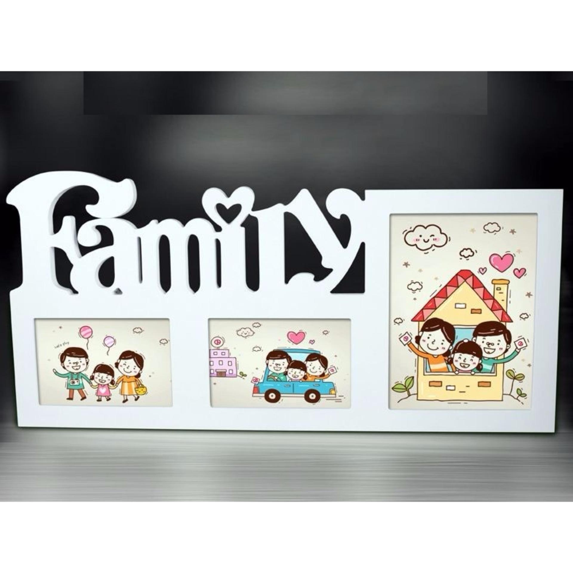 Cửa hàng bán Khung ảnh Family ba IG304