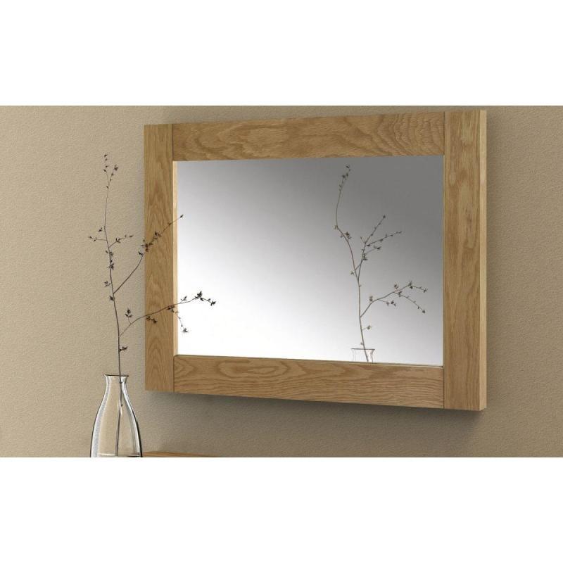 Khung Gương Kính gỗ sồi Mỹ 70x90