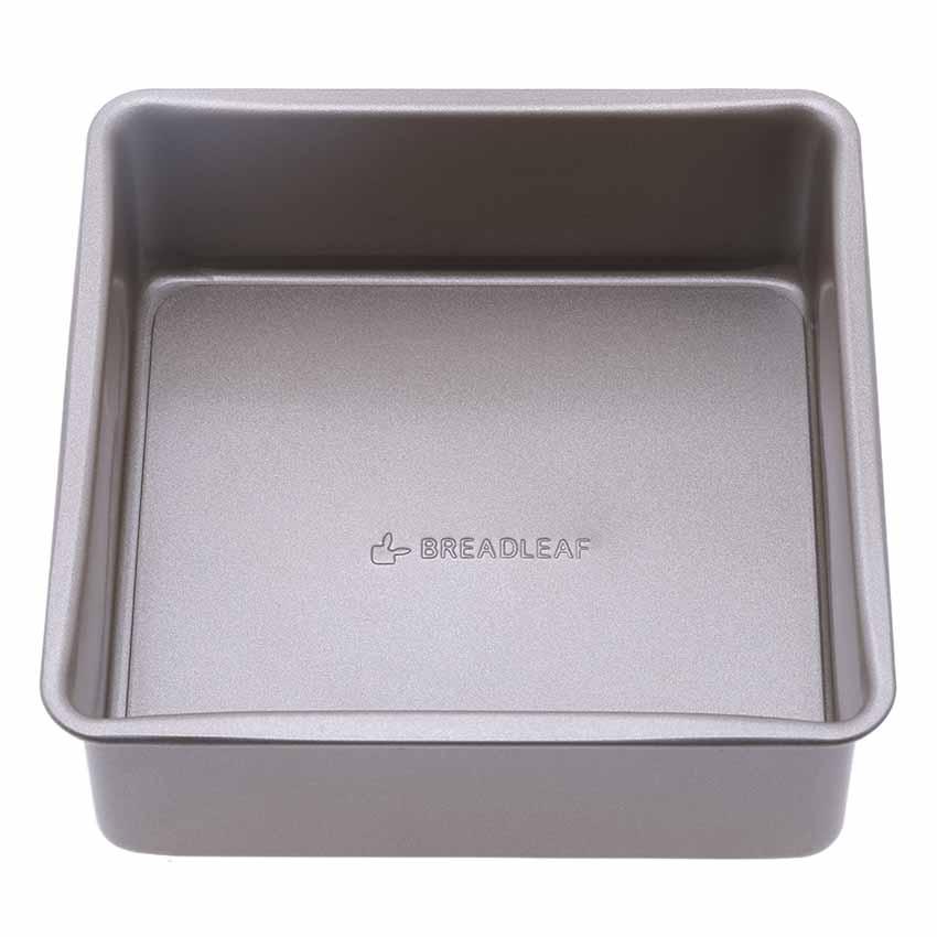Khuôn hình vuông đế rời Breadleaf 16cm HB1095 (Nâu đồng)