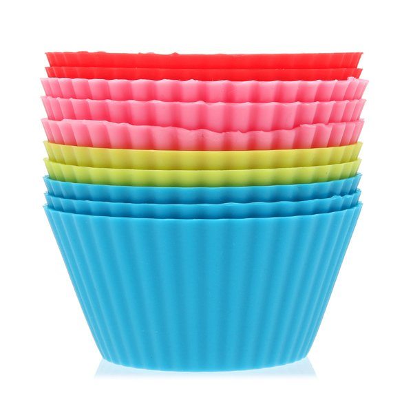 Khuôn Silicon cupcake tròn 12 cup HT0003-SI2