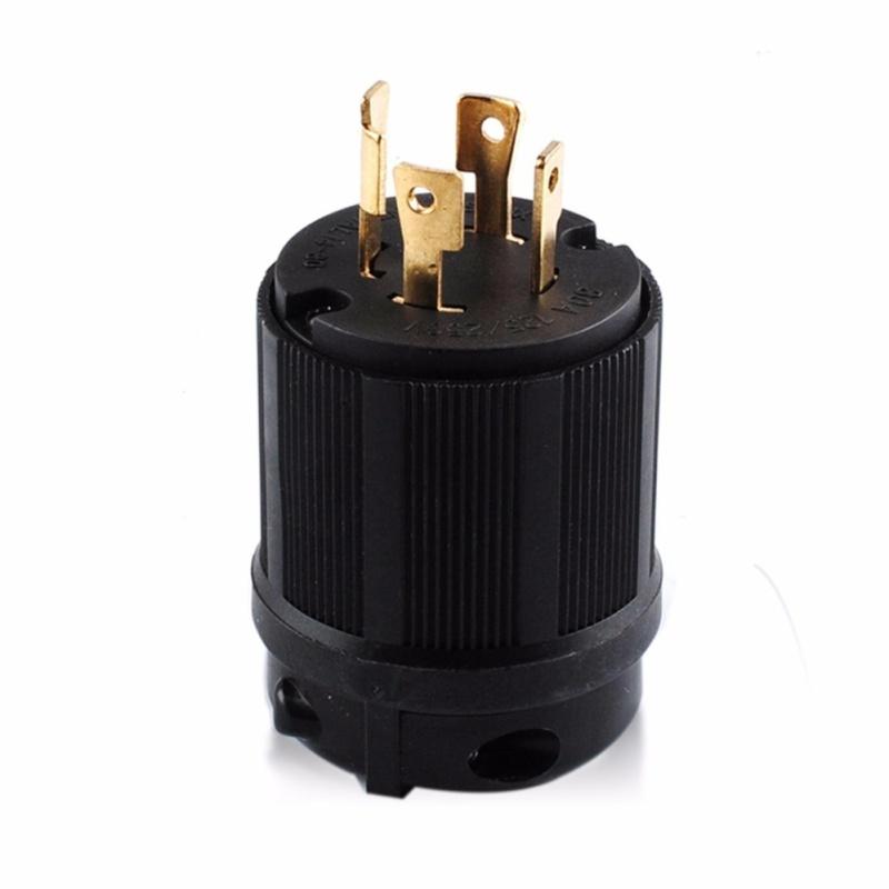 Bảng giá Mua L14-30 Male Plug Locking, Ground 30A 125/250v (L14-30P) - UL Approved - intl
