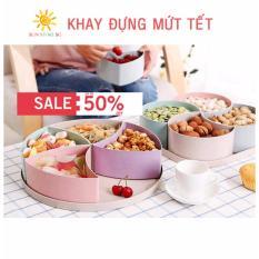 Làm Mứt Dừa Non Miếng - Khay Mứt Lúa Mạch Sang Chảnh 5 Ngăn Các Bà Nội Trợ Nên Sắm Cho Tết - Giảm Giá 50% Chỉ Ngay Hôm Nay