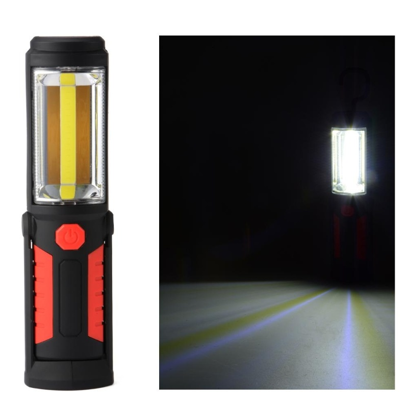 Bảng giá Mua LED Work Light Rechargeable Hiking Lamp Outdoor Flashlight Torch Magnetic - intl