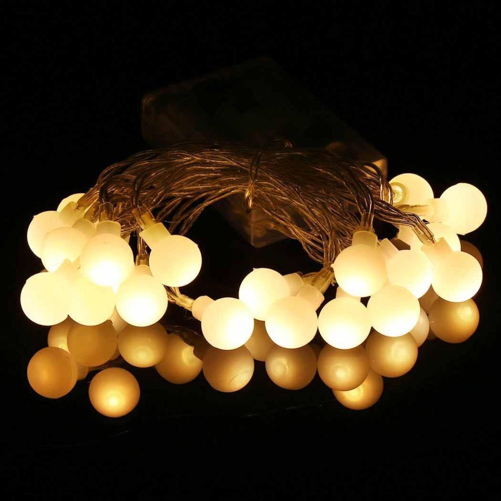 Nơi nào bán Linemart 2m 20 Lights String Lights Ball for Party Wedding Christmas – intl