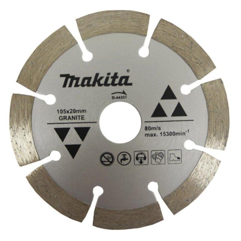 Lưỡi cắt đá granite Makita D-44351 (Xám)