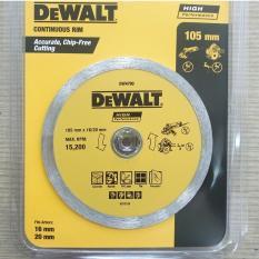 Lưỡi cắt đa năng 105mm DeWalt CONTINUOUS RIM DW4790