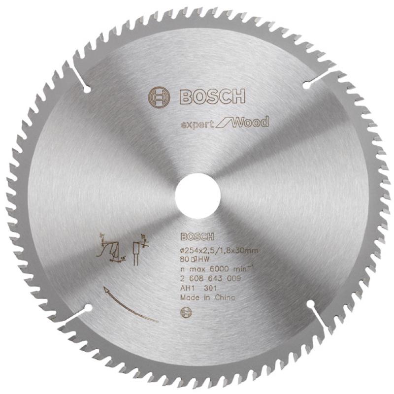 Lưỡi cưa gỗ (254xT80)