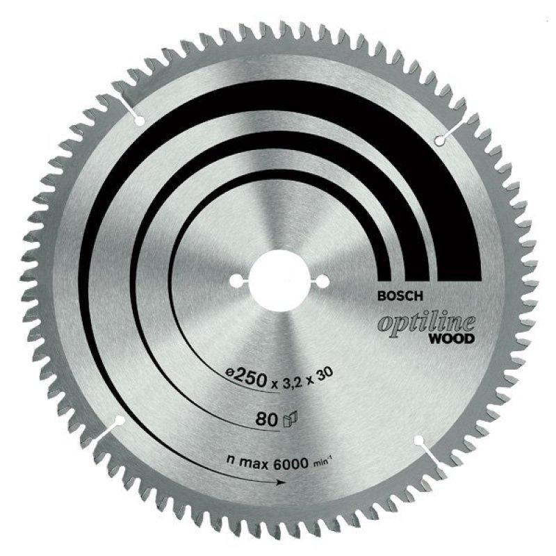 Lưỡi cưa gỗ (305xT80)