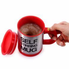 Ly cà phê pha tự động SELF MUG (Xám Bạc)