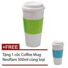 Nơi mua Ly giữ nhiệt Coffee Mug Neoflam (Xanh lá) + Tặng 1 cốc CoffeeMugNeoflam (Xanh)