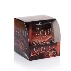 Ly nến thơm khử mùi Bartek Candles BAT3783 Coffee 100g (Hương cà phê)