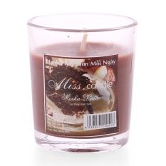 Chi tiết sản phẩm Ly nến thơm votives hương Mocha latte Miss Candle FtraMart FTM-NQM0413 (Nâu đậm)