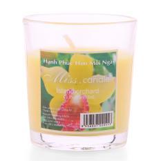 Vì sao mua Ly nến thơm votives hương sả chanh Miss Candle FtraMart FTM-NQM0413 (Vàng)