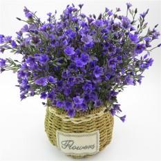 MagiDeal Beautiful Lifelike Artificial Flower Home Office Decor Purple Lavender