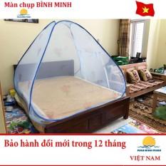 Màn chụp chống muỗi tự bung cao cấp loại 2 cửa 1m6 x 2m siêu bền – Hàng Việt Nam