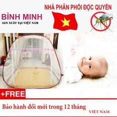 Màn chụp chống muỗi tự bung tiện dụng loại 2 cửa 1m8 x 2m siêu bền (Loại đỉnh rộng) – Hàng Việt Nam