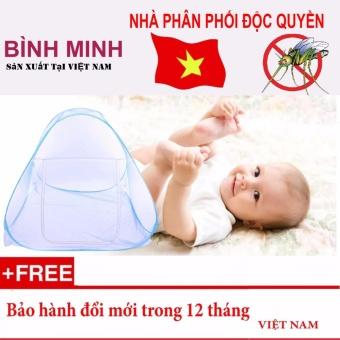 Màn chụp tự bung BÌNH MINH loại 2 cửa 1m8 x 2m - Hàng Việt Nam sản xuất