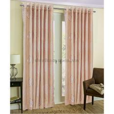 Địa Chỉ Bán Màn cửa đơn khoen Miss Curtain 135x160cm (525-Coffee)  MISS_CURTAIN